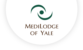 Medilodge of yale web logo